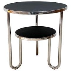 Bauhaus Steeltube Side Table, Germany, circa 1930-1940
