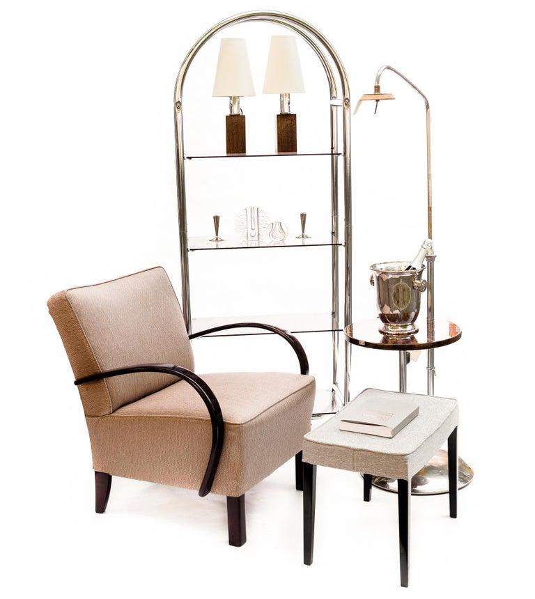 Bauhaus Style Tubular Shelf, Chrome In Good Condition For Sale In Krakow, małopolskie