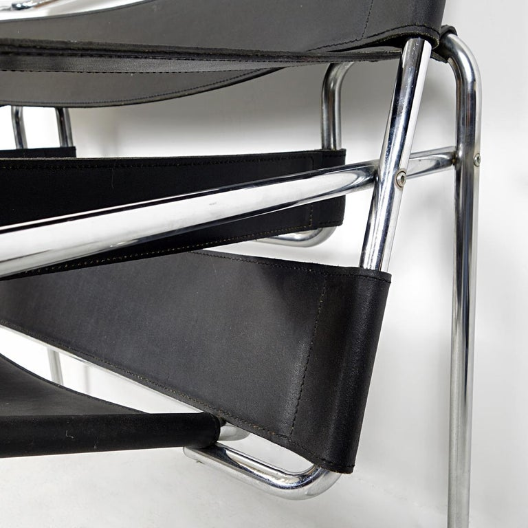 Bauhaus Style Wassily Chair by Marcel Breuer for Knoll International For Sale 5