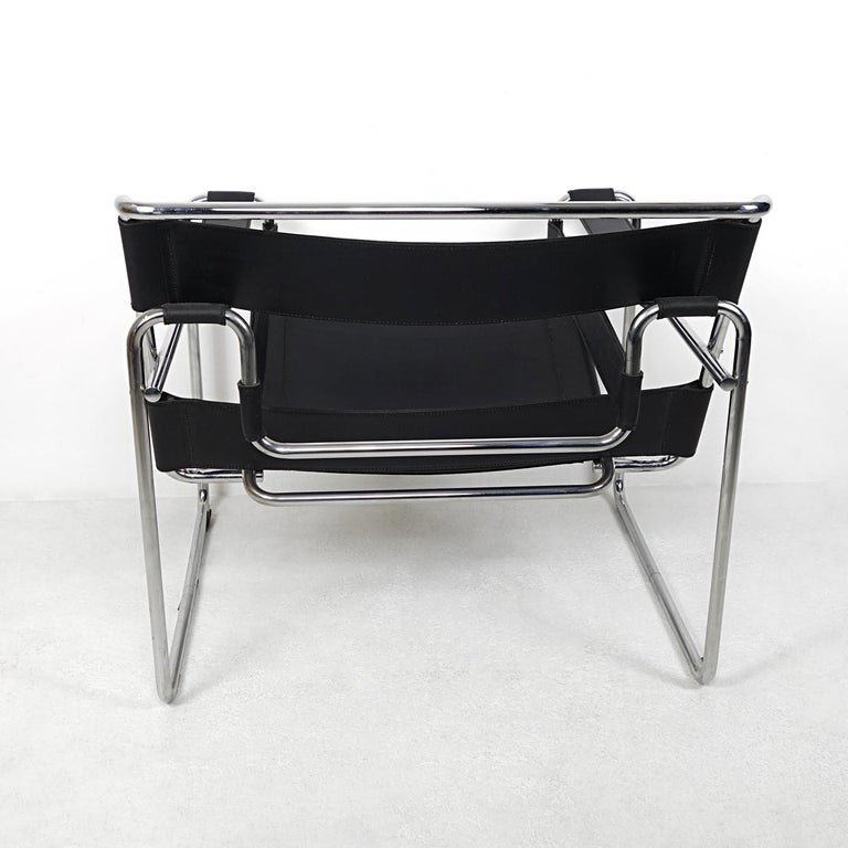Bauhaus Style Wassily Chair by Marcel Breuer for Knoll International In Good Condition For Sale In Doornspijk, NL