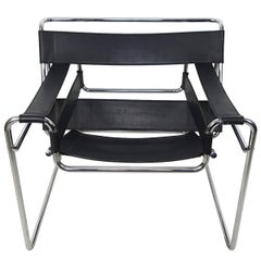 Bauhaus Style Wassily Chair by Marcel Breuer for Knoll International