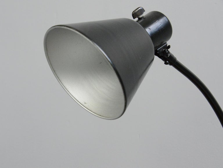 German Bauhaus Table Lamp by Schaco, circa 1930s For Sale