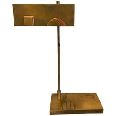 Brass Bauhaus table lamp, Made in Germany, 20's 30's