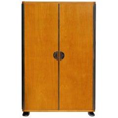 Bauhaus Tubular Steel Cabinet from Vichr a Spol., 1930s