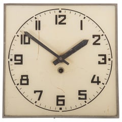 Bauhaus Wall Clock