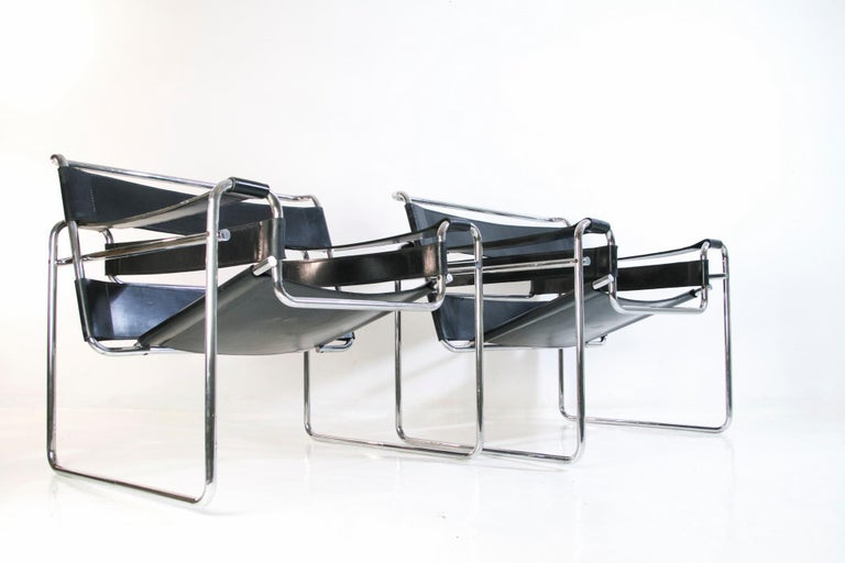 Art Deco Bauhaus Wassily Chair by Marcel Breuer for Knoll International For Sale