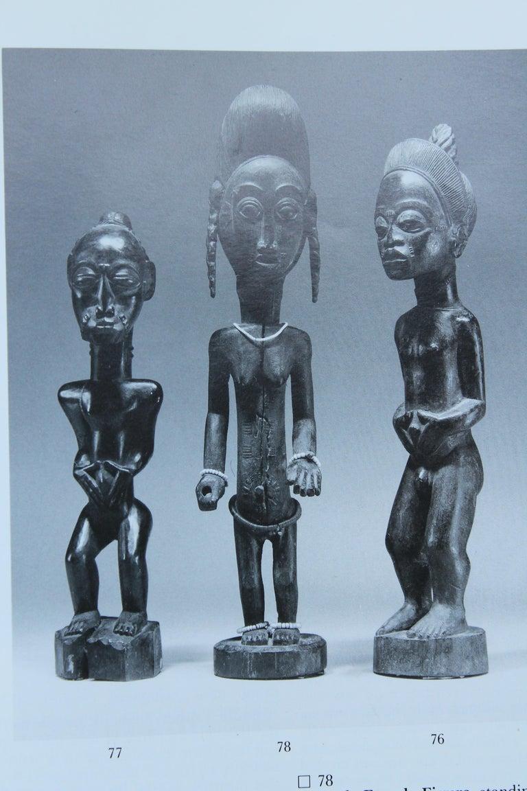 Baule Female Carved Wood Figure, African Sculpture Sotheby's Provenance For Sale 2