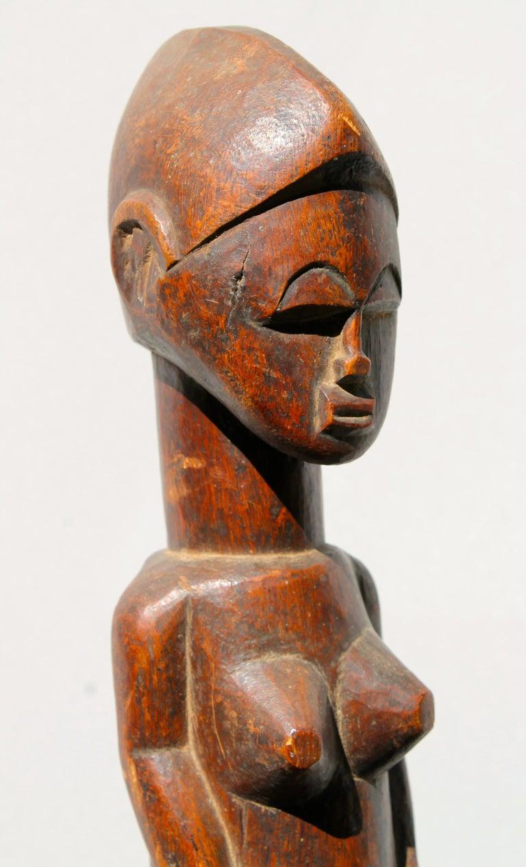 Baule Female Figure African Sculpture For Sale 2