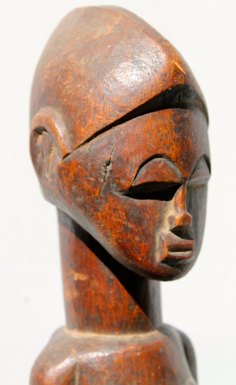 Baule Female Figure African Sculpture For Sale 3