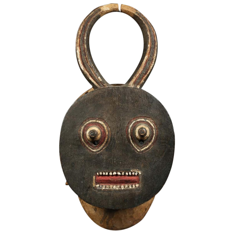 Baule Kple Kple Tribal Mask, Ivory Coast, Africa, Early 20th Century, Provenance