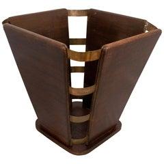 Baumann Wastepaper Basket Midcentury, circa 1950