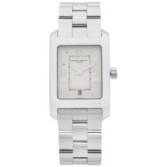 Baume et Mercier Hampton Stainless Steel White Dial Quartz Men's Watch MOA08604
