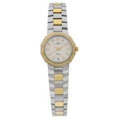 Baume et Mercier Riviera Two-Tone Steel Diamond MOP Ladies Quartz Watch 5231