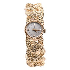 Baume & Mercier 14 Karat Yellow Gold Quartz Wristwatch