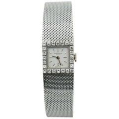 Baume & Mercier 18 Carat White Gold Ladies Quartz Watch