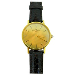 Baume & Mercier 35121 Yellow Gold Mechanic Wristwatch