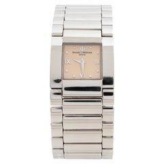 Baume & Mercier Beige Stainless Steel Catwalk MV045197 Women's Wristwatch 24 mm