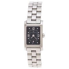 Baume & Mercier Black Stainless Steel Hampton MV045139 Women's Wristwatch 20 MM