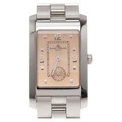 Baume & Mercier Champagne Stainless  Hampton MV045063 Men's Wristwatch 24 mm