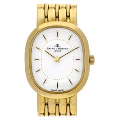 Baume & Mercier Classic 186009, White Dial, Certified and Warranty