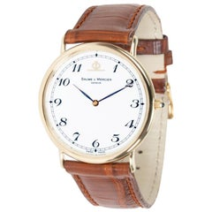 Baume & Mercier Classic 95600, White Dial, Certified and Warranty