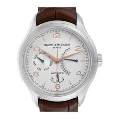 Baume Mercier Classima Executive Clifton Steel Men's Watch 10149 Unworn