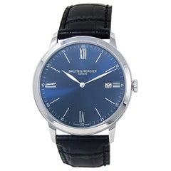 Baume & Mercier Classima M0A10324, Blue Dial, Certified