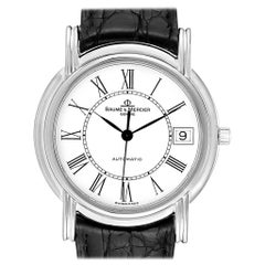 Baume Mercier Classima White Gold Men's Watch MV045077 Box Papers