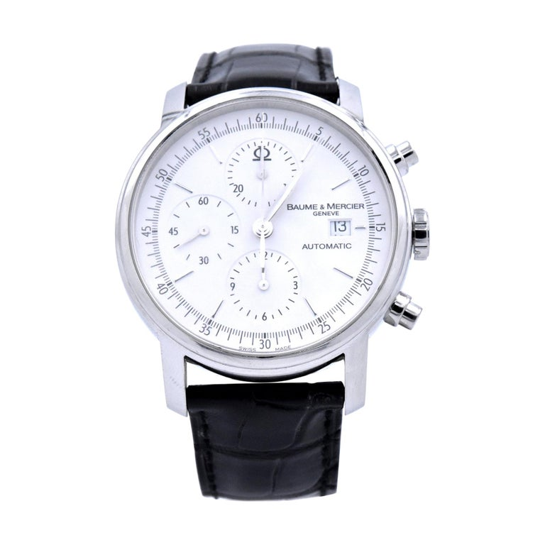 Baume & Mercier Classima XL Chronograph Watch Ref. 65533