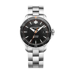 Baume & Mercier Clifton Automatic Black Dial Men's Watch MOA10340
