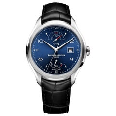 Baume & Mercier Clifton GMT Automatic Blue Dial Men's Watch MOA10316
