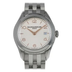 Baume & Mercier Clifton M0A10175, Case, Certified and Warranty