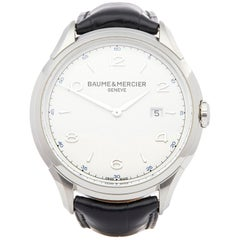 Baume & Mercier Clifton M0A10419 Men's Stainless Steel Watch