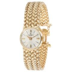 Baume & Mercier Dress Dress Women's Watch in 14 Karat Yellow Gold