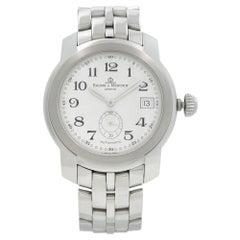 Baume & Mercier Et Capeland Stainless Steel White Dial Mens Watch MV045221
