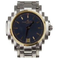 Baume & Mercier Grey Stainless Steel Shogun 5236.018.3 Womens Wristwatch 26 MM