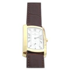 Baume & Mercier Hampton 18 Karat Yellow Gold Men's Watch White Dial Quartz