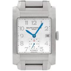 Baume & Mercier Hampton 65697, Silver Dial, Certified and Warranty