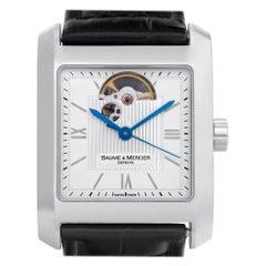 Baume & Mercier Hampton M0A08818, Silver Dial, Certified