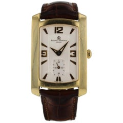 Baume & Mercier Hampton Milleis 18K Yellow Gold Quartz Ladies Watch M0A08241
