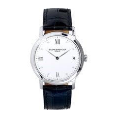 Baume & Mercier Ladies Stainless Steel Classima Quartz Wristwatch