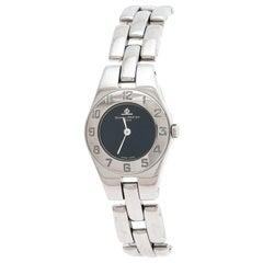 Baume & Mercier Navy Stainless Steel Linea MV045162 Women's Wristwatch 22MM