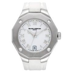 Baume & Mercier Riviera 65575, Grey Dial, Certified and Warranty