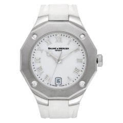 Baume & Mercier Riviera 65575, White Dial, Certified and Warranty