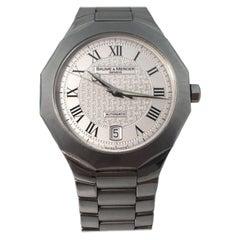 Baume & Mercier Riviera Stainless Steel Automatic Watch 65536