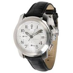 Baume & Mercier Silver Stainless Steel Capeland MV045216 Men's Wristwatch 38MM