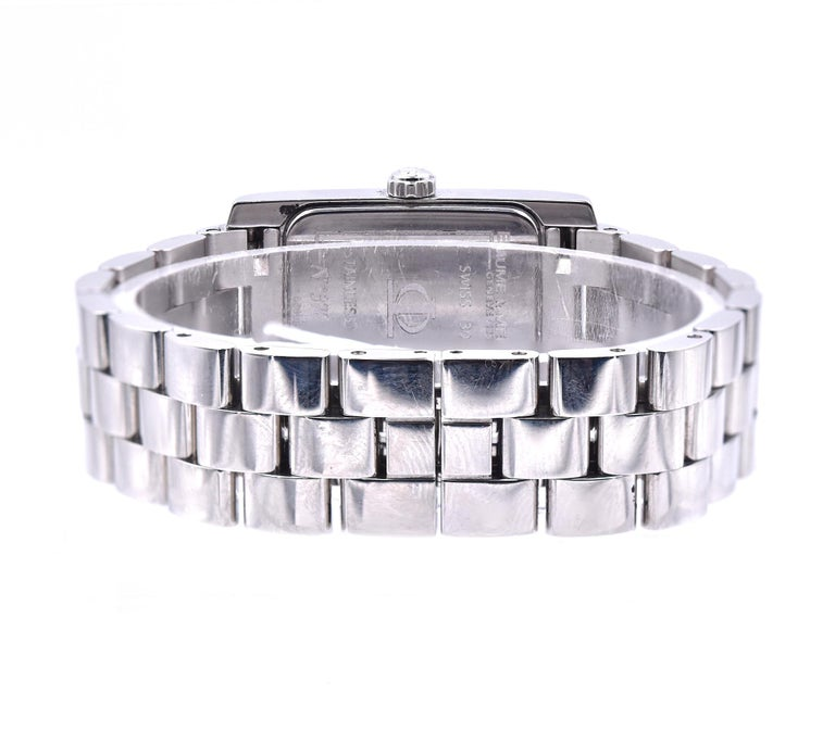 Women's Baume & Mercier Stainless Steel Diamond Hampton For Sale