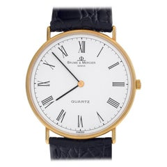 Baume & Mercier Ultra Thin 95141, White Dial, Certified and Warranty