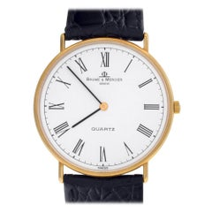 Baume & Mercier Ultra Thin 95141, Blue Dial, Certified and Warranty