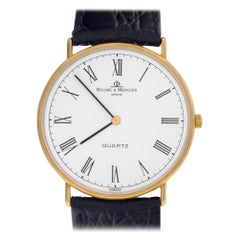 Baume & Mercier Ultra Thin 95141, Case, Certified and Warranty